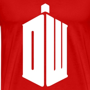 Dr Who DW - Men's Premium T-Shirt