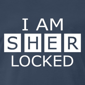 I am Sher locked - Men's Premium T-Shirt