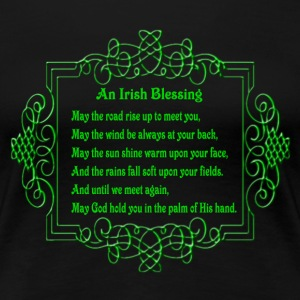 An Irish Blessing Shirt - Women's Premium T-Shirt
