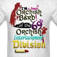 Design ~ Mens Tee: Orc Bard Colour