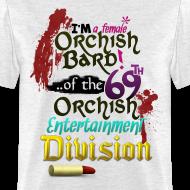 Design ~ Mens Tee: Orc Bard Colour
