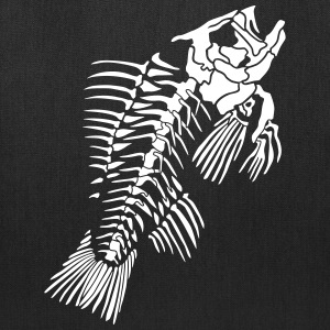Fish skeleton Bags & backpacks - Tote Bag