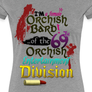Design ~ Ladies Tee: Orc Bard Colour