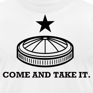 Dome and Take It. T-Shirts - Men's T-Shirt by American Apparel