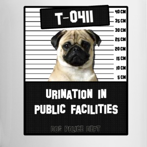 Jail Pug T-0411-1 Bottles & Mugs - Coffee/Tea Mug