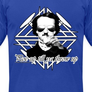 Poe in the house - Men's T-Shirt by American Apparel