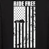 Design ~ S&S RIDE FREE U.S.A. WHITE