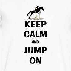 Keep Calm and Jump On Horse T-Shirts