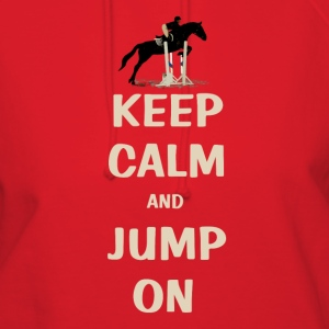 Keep Calm and Jump On Horse Hoodies - Women's Hoodie