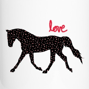 Horses, Hearts and Love Bottles & Mugs - Travel Mug
