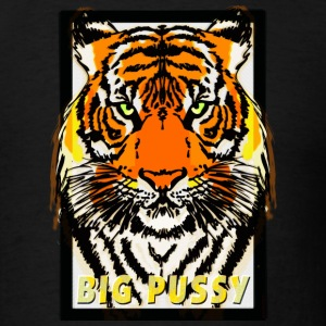 Tiger - Big Pussy (pussycat) T-Shirts - Men's T-Shirt
