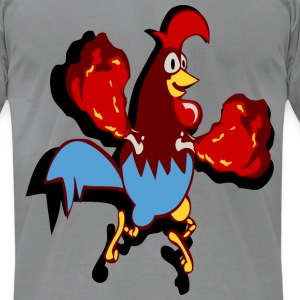 chicken + wings T-Shirts - Men's T-Shirt by American Apparel