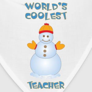 World's Coolest Teacher Caps - Bandana