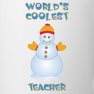World's Coolest Teacher Bottles & Mugs - Coffee/Tea Mug