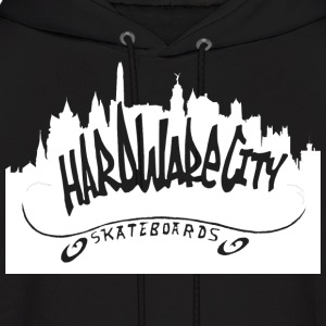 O.G. CITY SKYLINE LOGO  - Men's Hoodie