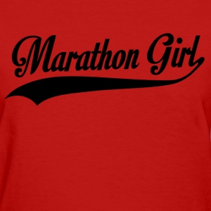 marathon girl - Women's T-Shirt