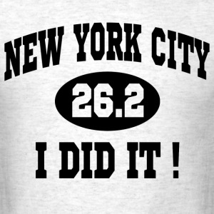 new york city marathon - Men's T-Shirt