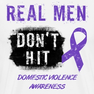 Domestic Violence Awareness - Men's Premium T-Shirt