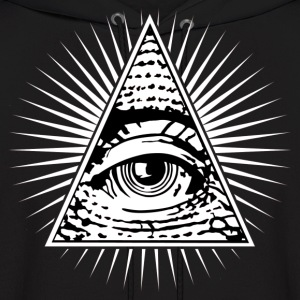 illuminati eye of providence Hoodies - Men's Hoodie