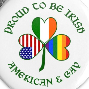 Proud Irish American Gay - Small Buttons