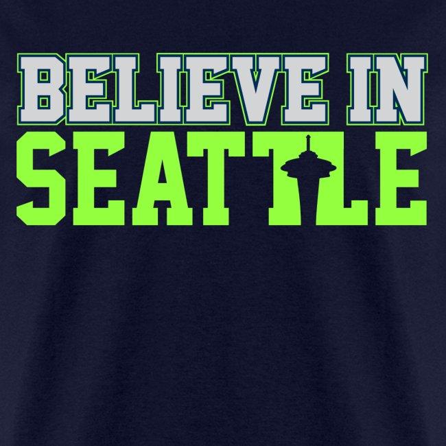 Believe In Seattle Shirt