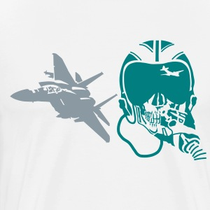 fighter F-15 T-Shirts - Men's Premium T-Shirt