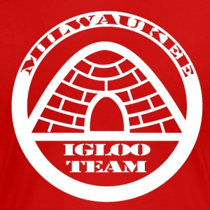 The Official T-Shirt of the Milwaukee Igloo Team - Women's Premium T-Shirt
