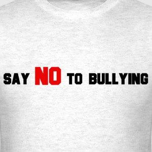 StichRulez Say NO To Bullying - Men's T-Shirt