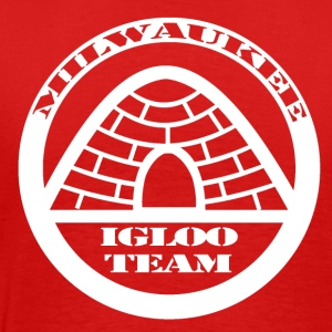 The Official T-Shirt of the Milwaukee Igloo Team - Men's Premium T-Shirt