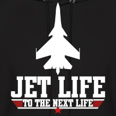 Jet life to the next life Hoodies