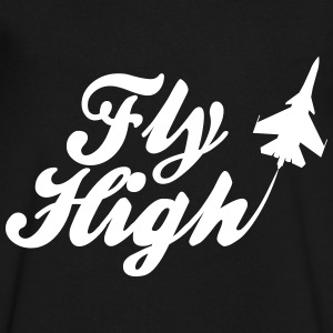 fly high T-Shirts - Men's V-Neck T-Shirt by Canvas