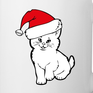 cat santa Bottles & Mugs - Coffee/Tea Mug