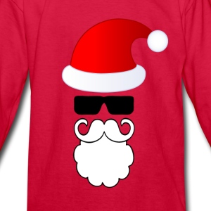 Lovely Santa Kids' Shirts - Kids' Long Sleeve T-Shirt