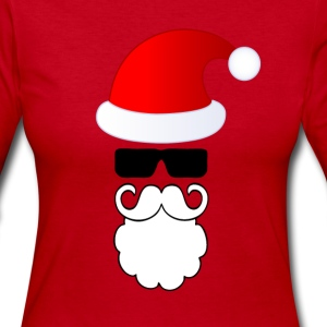 Lovely Santa Long Sleeve Shirts - Women's Long Sleeve Jersey T-Shirt