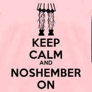 Design ~ Chick's Keep Calm Shirt - womens