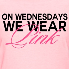 Mean Girls - On Wednesdays, We Wear Pink