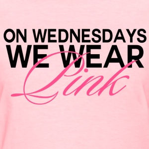 Mean Girls - On Wednesdays, We Wear Pink - Women's T-Shirt