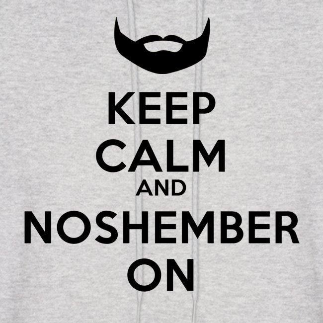 Noshember Dude's Hoodie - Keep Calm