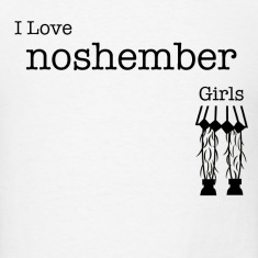I Love Noshember Girls, Men's Tee