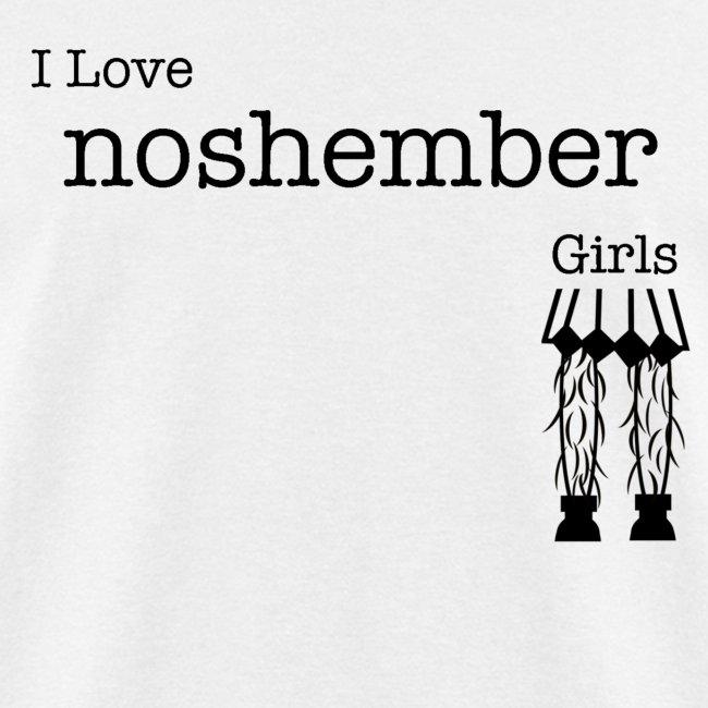 I Love Noshember Girls, Men's Tee
