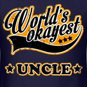 vintage world's okayest uncle - Men's T-Shirt