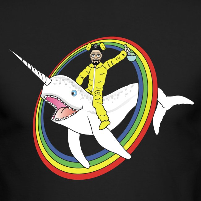 Walter White on a Narwhal
