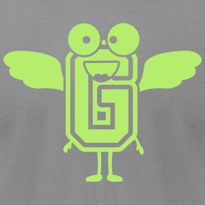 funny monster letter G T-Shirts - Men's T-Shirt by American Apparel