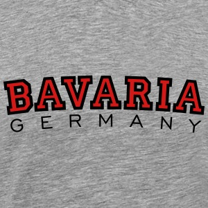 Bavaria Germany Black & Red T-Shirts - Men's Premium T-Shirt
