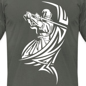 Ninja Warrior T-Shirts - Men's T-Shirt by American Apparel