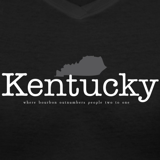 Kentucky - Where Bourbon Outnumbers People Two to One