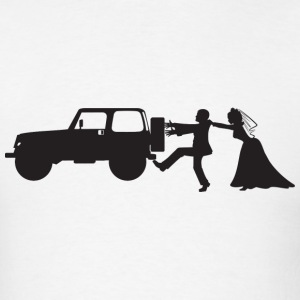 Jeep Bride and Groom - Men's T-Shirt