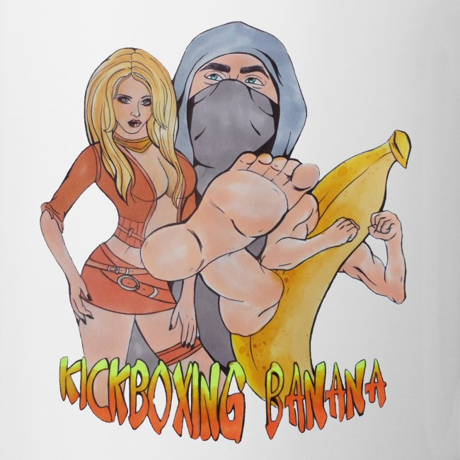 Kickboxing Banana Design #4