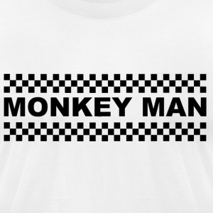 Monkey Man T-Shirts - Men's T-Shirt by American Apparel