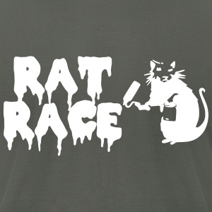 Rat Race T-Shirts - Men's T-Shirt by American Apparel
